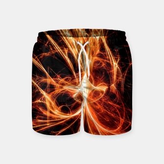 Thumbnail image of Abstract fire Swim Shorts, Live Heroes