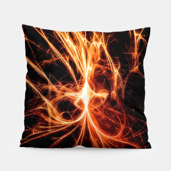 Thumbnail image of Abstract fire Pillow, Live Heroes