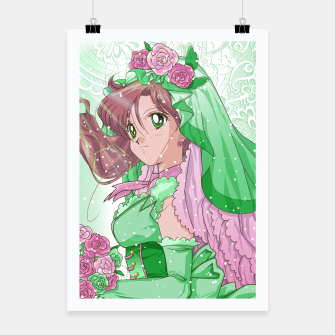 Miniaturka Makoto Wedding Dress Poster, Live Heroes