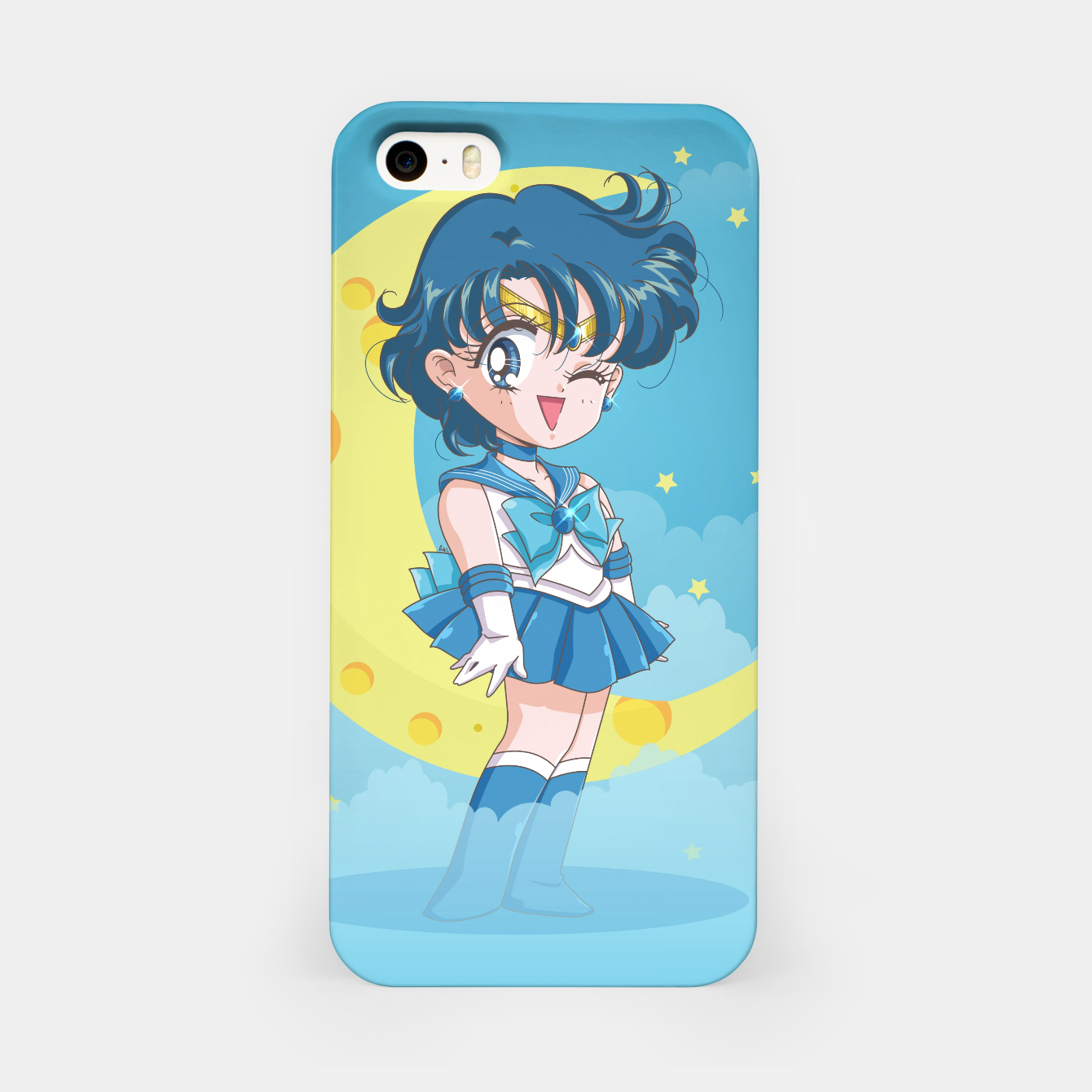 Zdjęcie Chibi Sailor Mercury  iPhone Case - Live Heroes