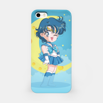 Chibi Sailor Mercury  iPhone Case obraz miniatury
