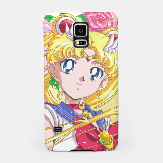 Sailor Moon 90's Crystal Samsung Case obraz miniatury