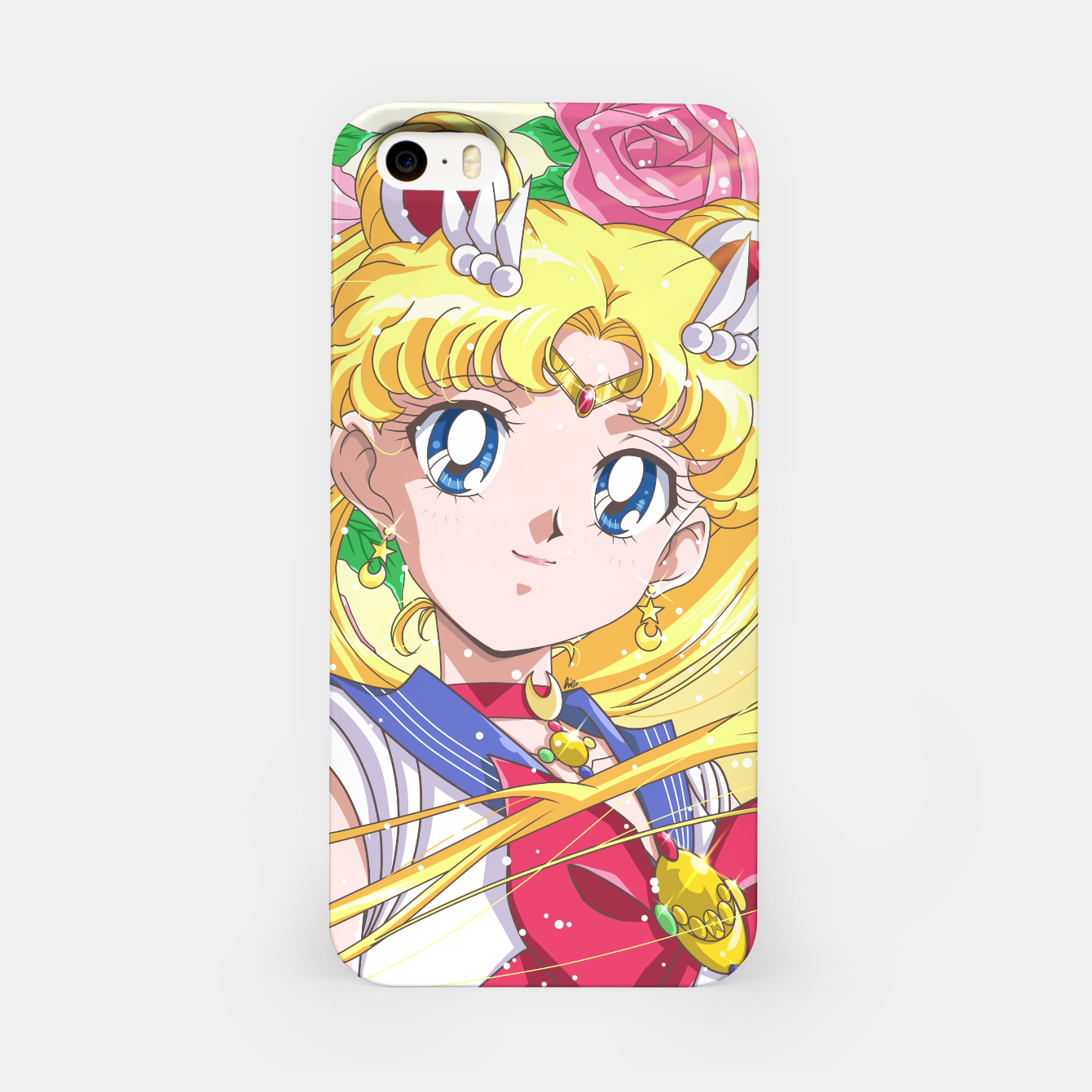 Zdjęcie Sailor Moon 90's Crystal iPhone Case - Live Heroes