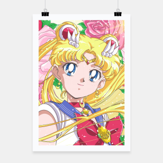 Miniaturka Sailor Moon 90's Crystal Poster, Live Heroes