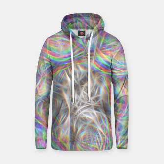 Thumbnail image of Psychedelic Background Hoodie, Live Heroes