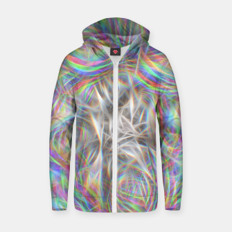 Thumbnail image of Psychedelic Background Zip up hoodie, Live Heroes