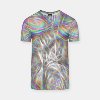 Thumbnail image of Psychedelic Background T-shirt, Live Heroes