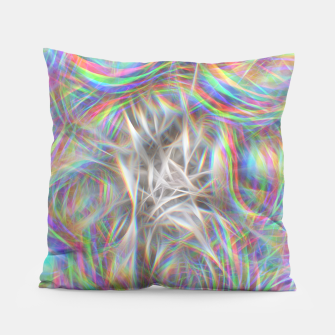 Thumbnail image of Psychedelic Background Pillow, Live Heroes