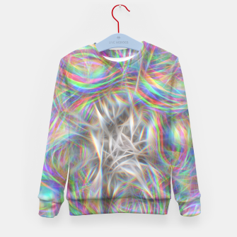 Thumbnail image of Psychedelic Background Kid's sweater, Live Heroes