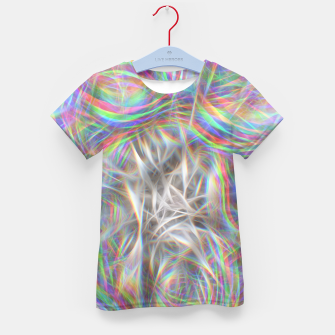 Thumbnail image of Psychedelic Background Kid's t-shirt, Live Heroes