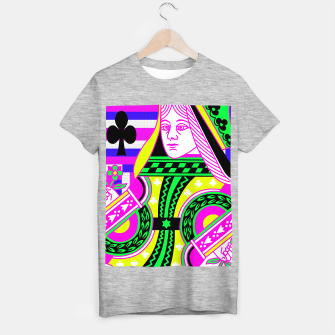 QUEEN OF CLUBS T-shirt regular Bild der Miniatur