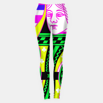 QUEEN OF CLUBS Leggings Bild der Miniatur