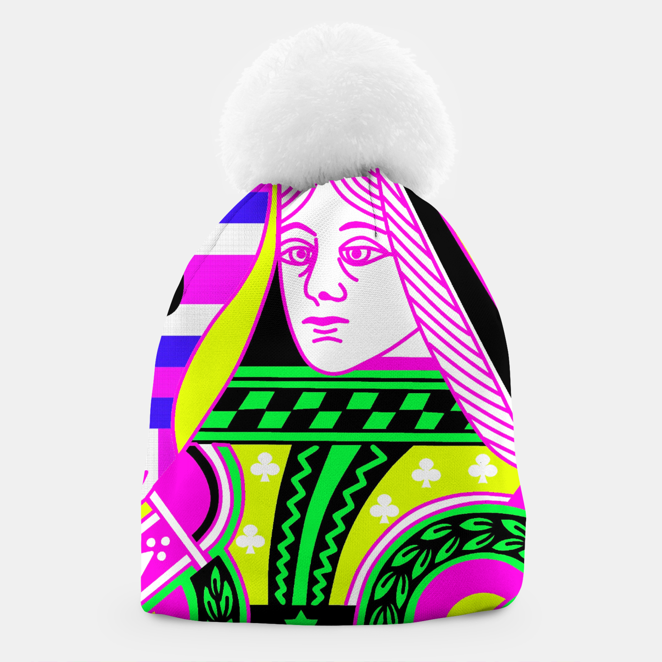 Foto QUEEN OF CLUBS Beanie - Live Heroes