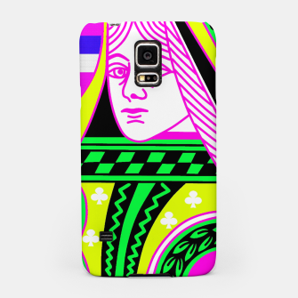 Thumbnail image of QUEEN OF CLUBS Samsung Case, Live Heroes