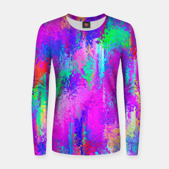 Miniaturka Dope Colorful Waves Women sweater, Live Heroes
