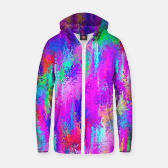 Miniaturka Dope Colorful Waves Zip up hoodie, Live Heroes