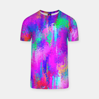 Miniaturka Dope Colorful Waves T-shirt, Live Heroes