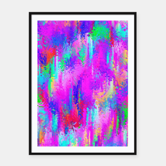 Miniaturka Dope Colorful Waves Framed poster, Live Heroes
