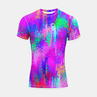 Miniaturka Dope Colorful Waves Shortsleeve rashguard, Live Heroes