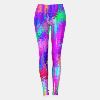 Miniaturka Dope Colorful Waves Leggings, Live Heroes