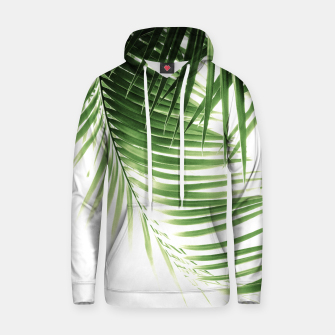 Thumbnail image of Palm Leaves Green Vibes #9 #tropical #decor #art  Kapuzenpullover, Live Heroes