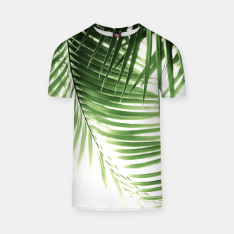 Thumbnail image of Palm Leaves Green Vibes #9 #tropical #decor #art  T-Shirt, Live Heroes