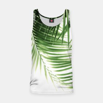 Thumbnail image of Palm Leaves Green Vibes #9 #tropical #decor #art  Muskelshirt , Live Heroes