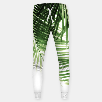 Thumbnail image of Palm Leaves Green Vibes #9 #tropical #decor #art  Hosen, Live Heroes