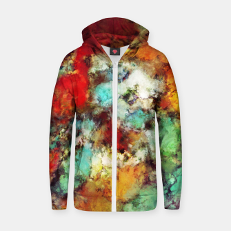 Thumbnail image of Breathe Zip up hoodie, Live Heroes