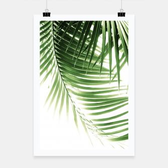 Thumbnail image of Palm Leaves Green Vibes #9 #tropical #decor #art  Plakat, Live Heroes