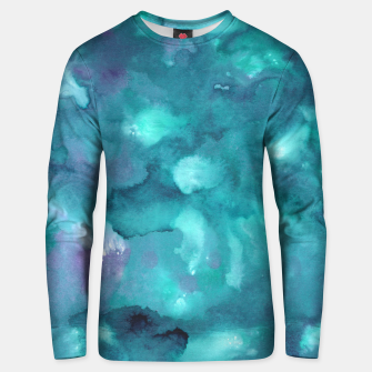 Thumbnail image of Dreamy Ocean Abstract Painting #2 #ink #decor #art  Unisex sweatshirt, Live Heroes