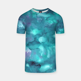 Thumbnail image of Dreamy Ocean Abstract Painting #2 #ink #decor #art  T-Shirt, Live Heroes
