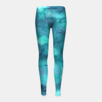 Thumbnail image of Dreamy Ocean Abstract Painting #2 #ink #decor #art  Kinder-Leggins, Live Heroes