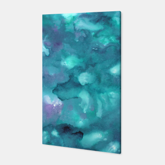Thumbnail image of Dreamy Ocean Abstract Painting #2 #ink #decor #art  Canvas, Live Heroes
