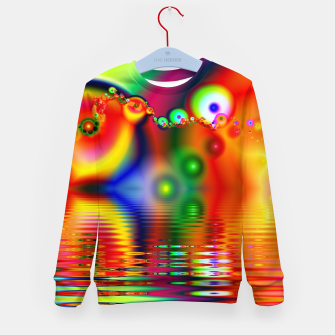 Thumbnail image of Reflection Kid's sweater, Live Heroes