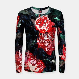 Thumbnail image of Dark Forest Women sweater, Live Heroes