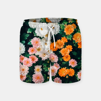 Thumbnail image of In My Garden Swim Shorts, Live Heroes