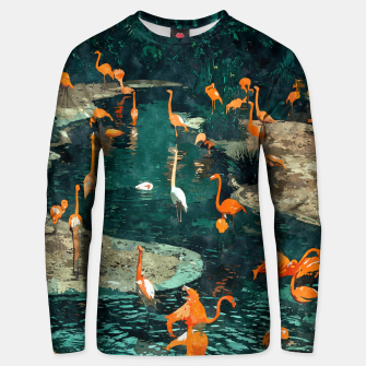 Miniatur Flamingo Creek Unisex sweater, Live Heroes