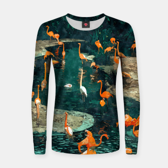 Miniatur Flamingo Creek Women sweater, Live Heroes