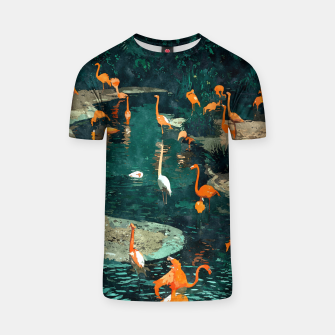 Miniatur Flamingo Creek T-shirt, Live Heroes