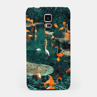 Miniatur Flamingo Creek Samsung Case, Live Heroes
