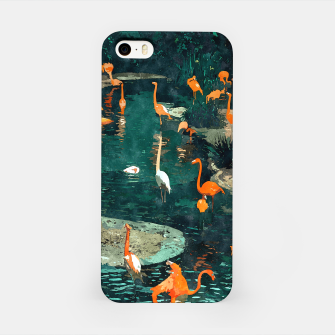 Miniatur Flamingo Creek iPhone Case, Live Heroes