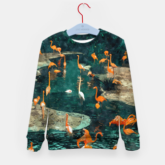 Miniatur Flamingo Creek Kid's sweater, Live Heroes
