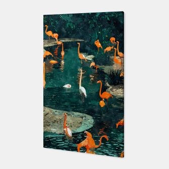 Miniatur Flamingo Creek Canvas, Live Heroes