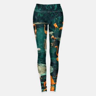 Miniatur Flamingo Creek Leggings, Live Heroes