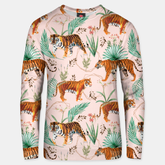 Miniatur Tropical and Tigers Unisex sweater, Live Heroes