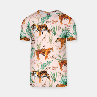 Miniatur Tropical and Tigers T-shirt, Live Heroes