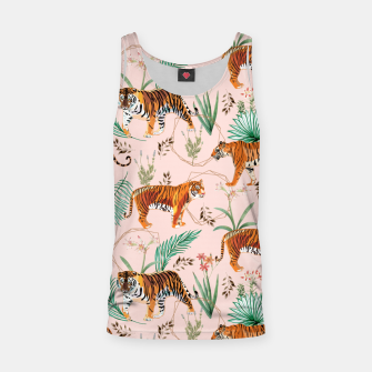 Miniatur Tropical and Tigers Tank Top, Live Heroes