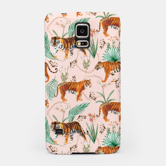 Miniatur Tropical and Tigers Samsung Case, Live Heroes