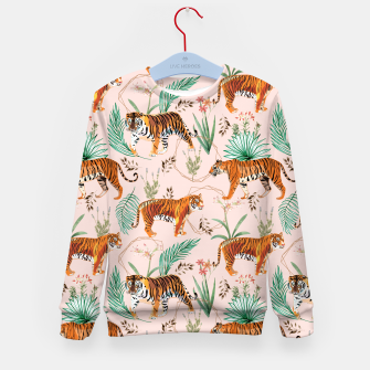 Miniatur Tropical and Tigers Kid's sweater, Live Heroes